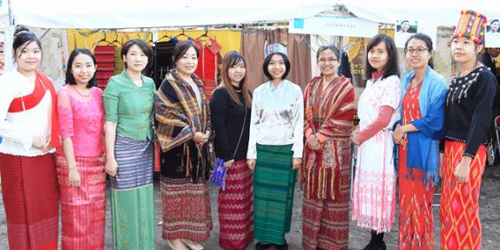 リアルなミャンマーと出会える。ミャンマー祭り2018