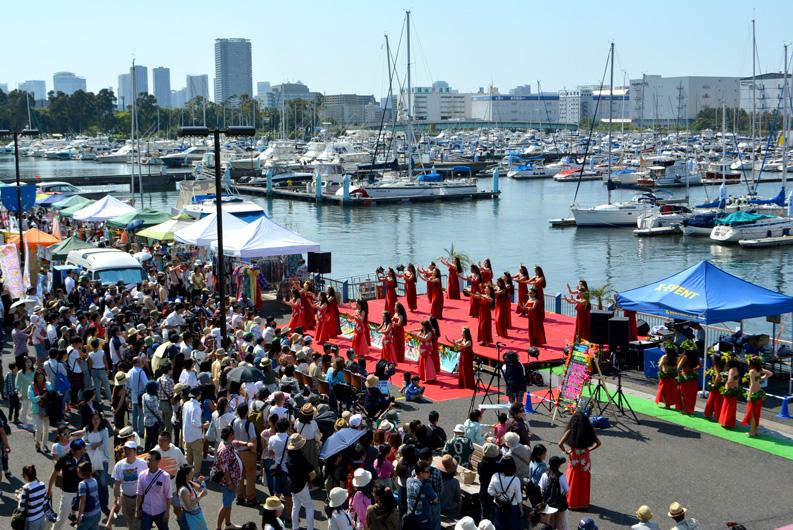 第5回東京夢の島マリーナ ハワイ&タヒチフェスティバル
